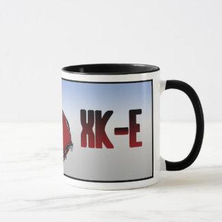 Red E Type Roadster Mug