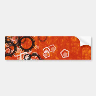 Red Ecig circles black Bumper Sticker