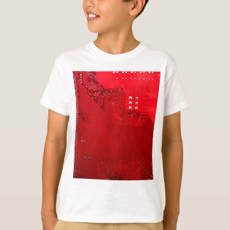 red electronic circuit board.JPG T-Shirt