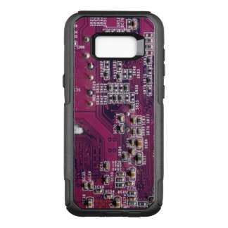 Red Electronic Circuit Board OtterBox Commuter Samsung Galaxy S8+ Case