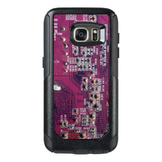 Red Electronic Circuit Board OtterBox Samsung Galaxy S7 Case