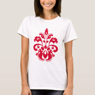 Red elegance victorian damask T-Shirt