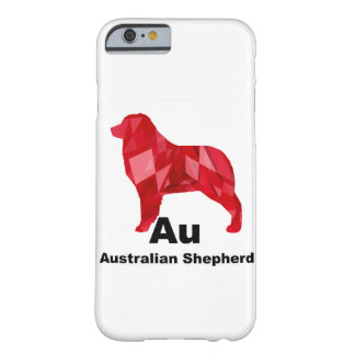 Red Elemental Aussie Barely There iPhone 6 Case