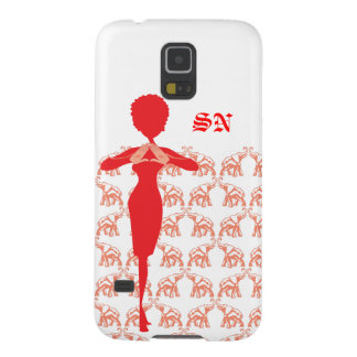 Red Elephant Case-Mate Barely There Samsung Galaxy Galaxy S5 Covers