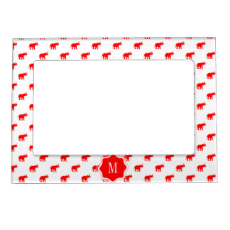 Red Elephant Magnetic Picture Frame