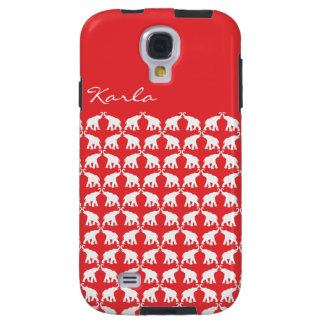 Red Elephant Samsung Galaxy S4 Vibe Galaxy S4 Case