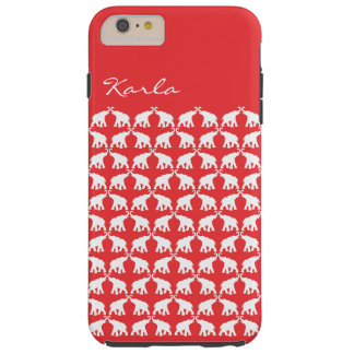 Red Elephant Tough iPhone 6 Plus Case