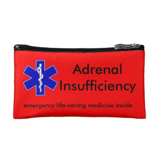 Red Emergency Kit Case: Life-Saving Steroids Makeup Bag
