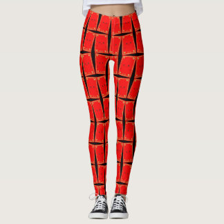 Red Envelope Leggings Vietnamese New Year Li Xi