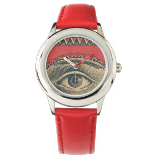 Red Eye Graphic Watch