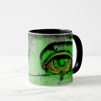 Red Eye Toxic Coffee Mug