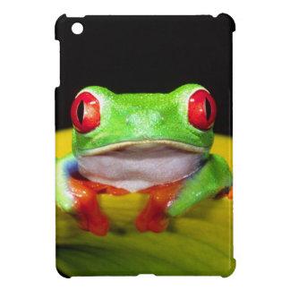 Red Eye Treefrog, Agalychinis callidryas, Native iPad Mini Cover