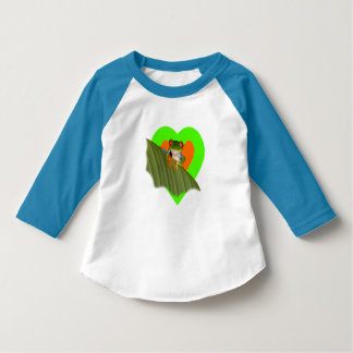 Red Eyed Gaudí Frog Toddler Sleeve T-shirt