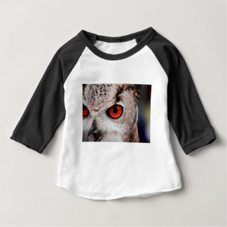 Red-Eyed Owl Baby T-Shirt