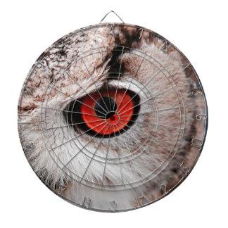 Red-Eyed Owl Dartboard