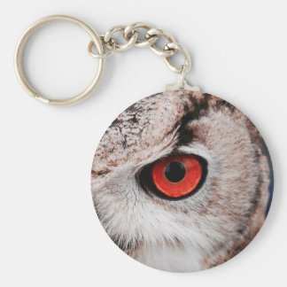 Red-Eyed Owl Key Ring