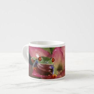 Red-eyed tree frog Agalychnis callidryas) Espresso Mug