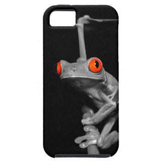Red Eyed Tree Frog iPhone 5 Cases