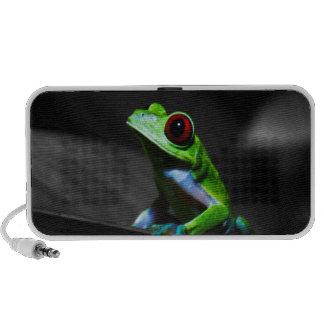 Red Eyed Tree Frog III Travelling Speaker