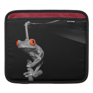 Red Eyed Tree Frog Sleeve For iPads