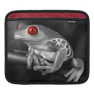 Red Eyed Tree Frog Sleeves For iPads