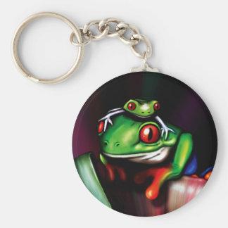 Red Eyed Tree Frog Key Ring