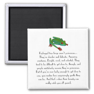 Red-eyed Tree Frog Magnet