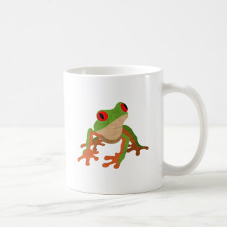 Red Eyed Tree Frog Coffee Mugs