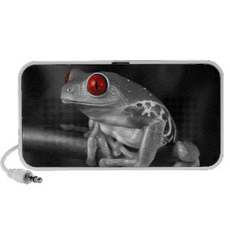 Red Eyed Tree Frog Notebook Speakers