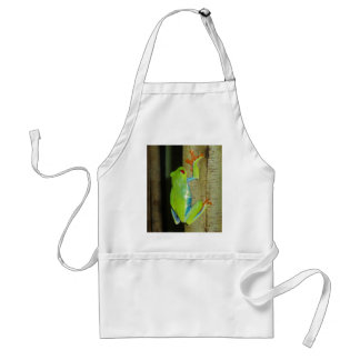 red-eyed tree frog standard apron