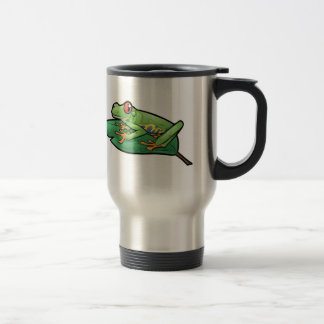 Red Eyed Tree Frog Travel Mug