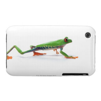 Red eyed tree frog walking Case-Mate iPhone 3 cases