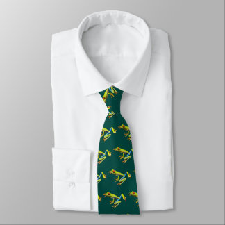 Red eyed tree frogs tie