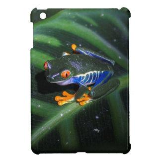 Red Eyes Frog On Leaf iPad Mini Cases