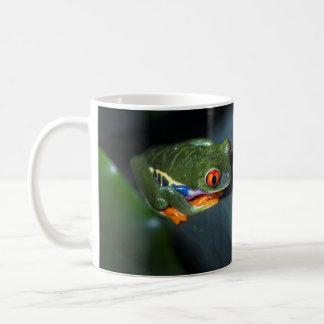 Red Eyes Frog Sitting Coffee Mug