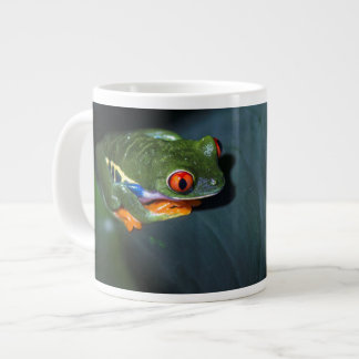 Red Eyes Frog Sitting Jumbo Mug