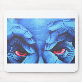 Red Eyes Mouse Pad