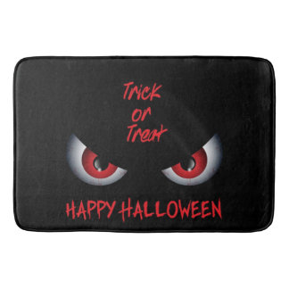 Red Eyes Trick Or Treat Bath Mats