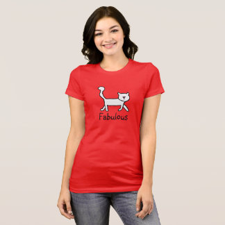 Red fabulous tee