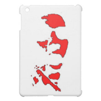 red face case for the iPad mini