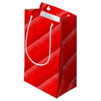 Red Fade Background Small Gift Bag