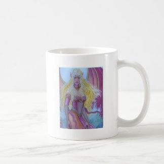 Red fairy Dragon Queen Basic White Mug