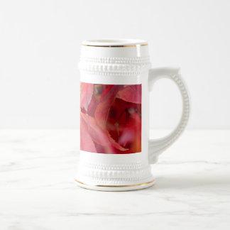 Red Fall Leaves Coffee Mugs
