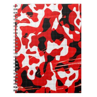 Red Fallout Camo (AOM Design) Notebook