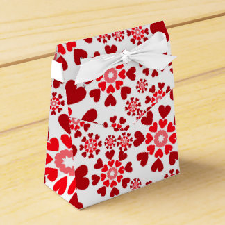 Red favor box