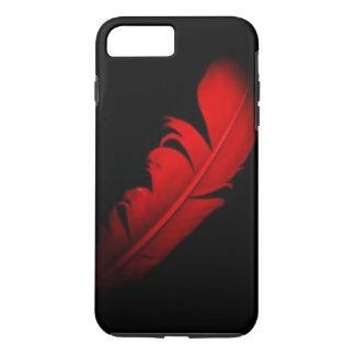 Red feather design iPhone 8 plus/7 plus case