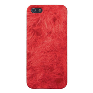 Red feather iPhone 5 covers