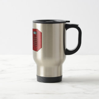 Red Female Cartoon Microwave Coffee Mug