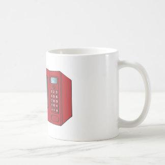 Red Female Cartoon Microwave Mug