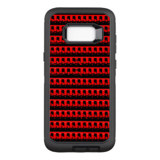 Red Fence OtterBox Defender Samsung Galaxy S8+ Case